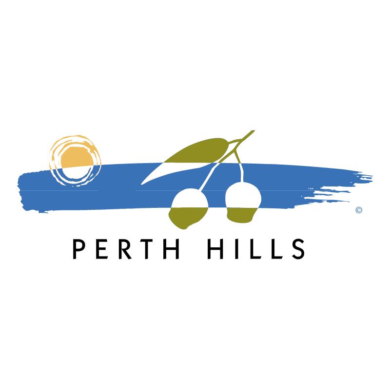 Perth Hills vector