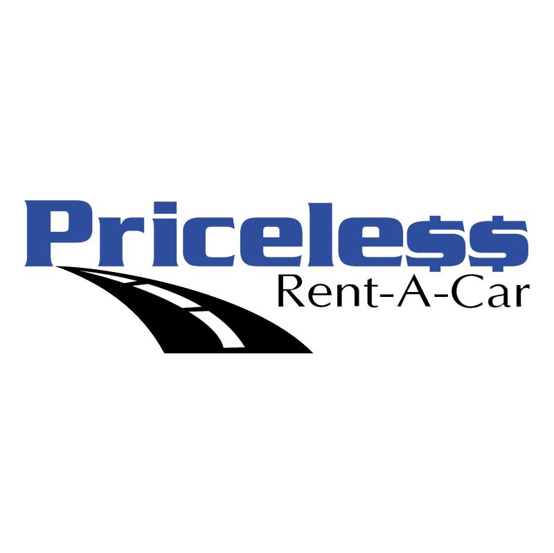 Priceless Rent A Car vector