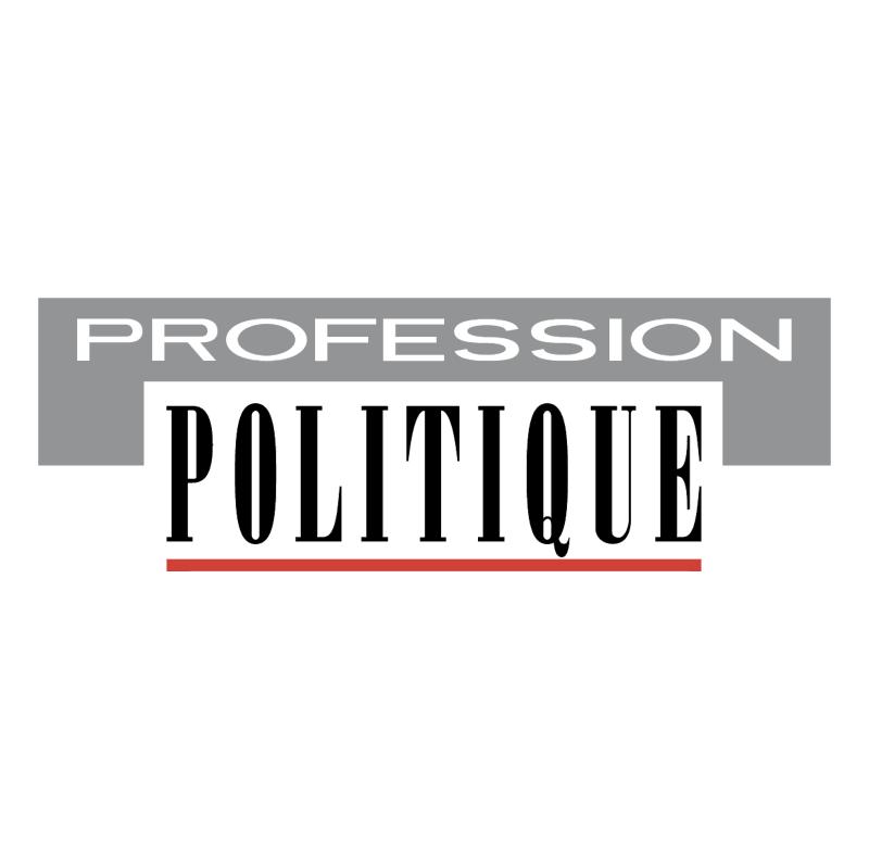 Profession Politique vector