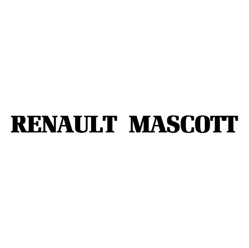 Renault Mascott vector