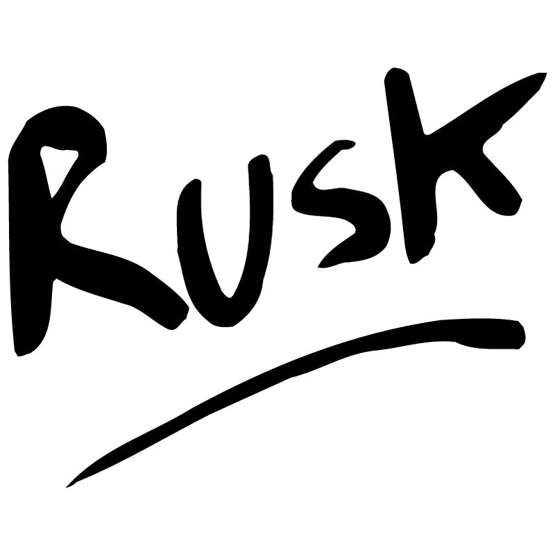 Rusk vector logo