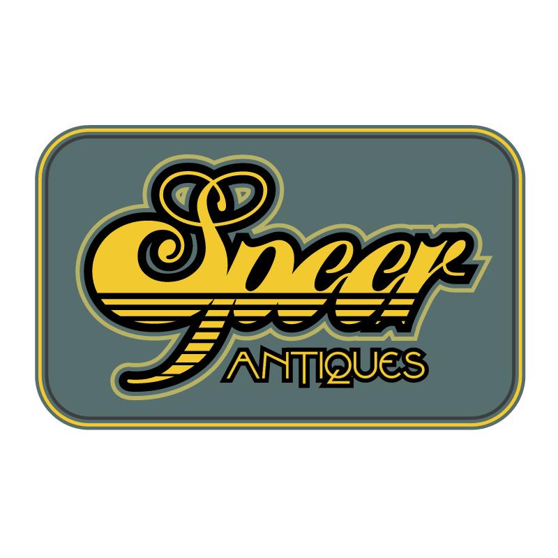 Speer Antiques vector logo