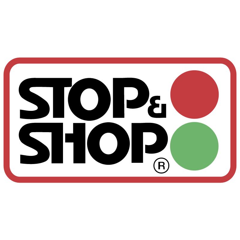 Stop & Shop vector
