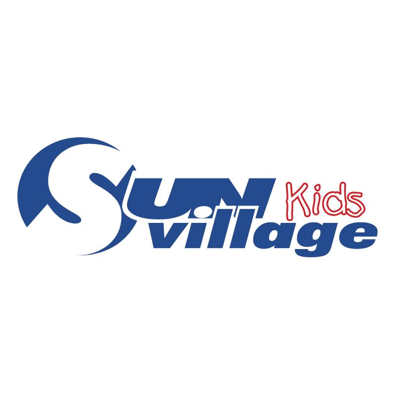 Sun Village Kids vector