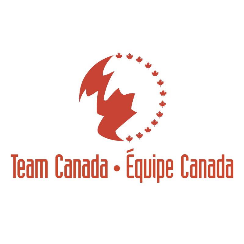 Team Canada vector logo