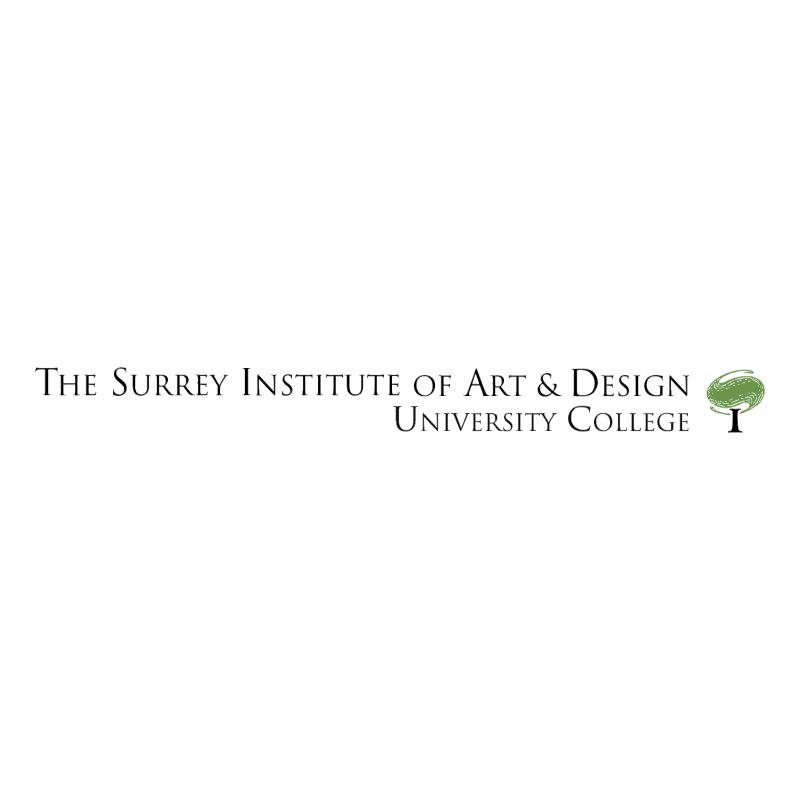 The Surrey Institute of Art & Design vector logo