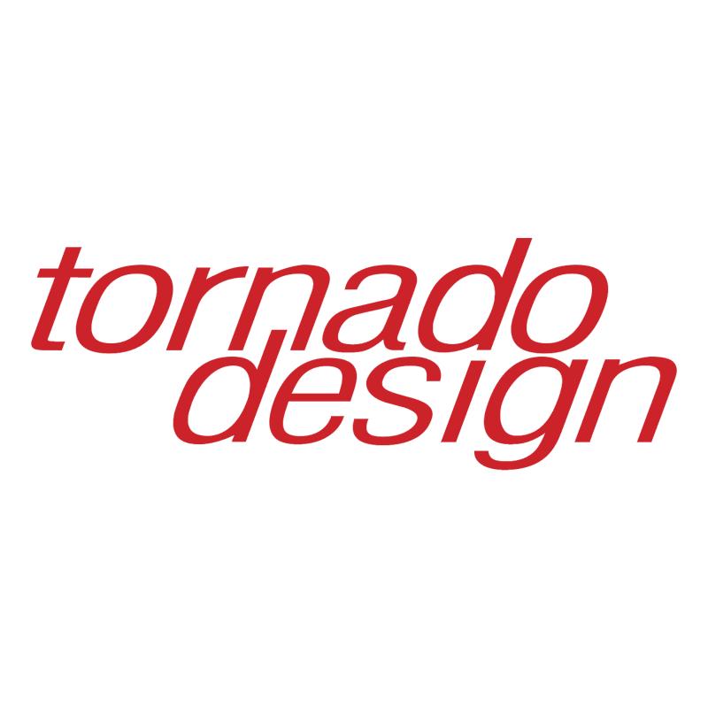Tornado Design vector logo