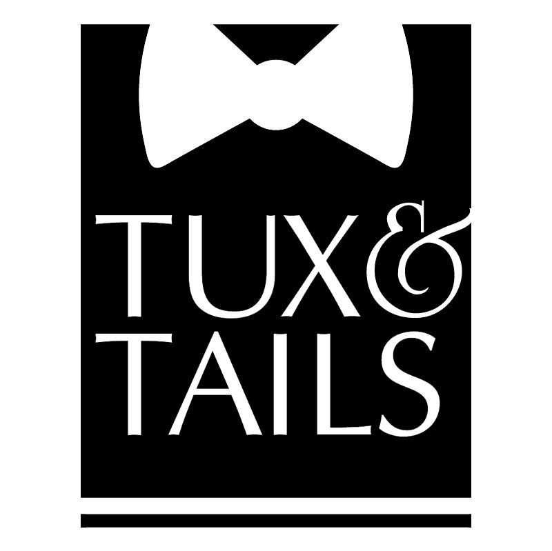 Tux & Tails vector logo