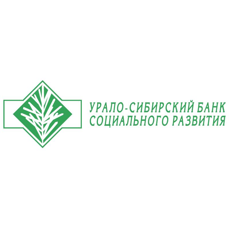 Uralo Sibirsky Bank vector