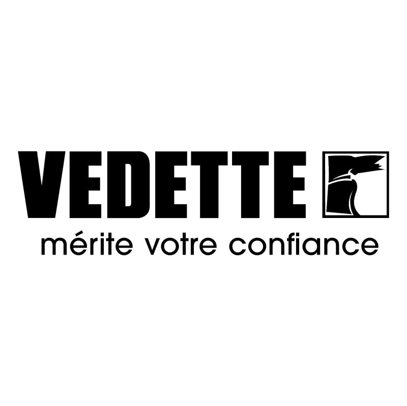 Vedette vector logo