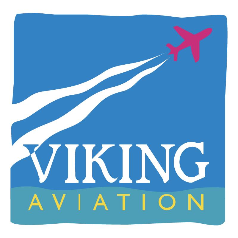 Viking Aviation vector