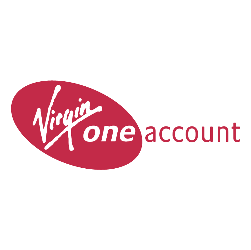 Virgin One Account vector logo