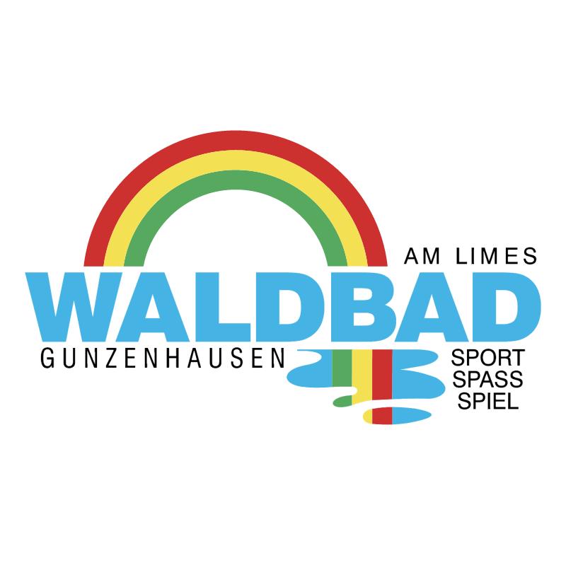 Waldbad Gunzenhausen vector