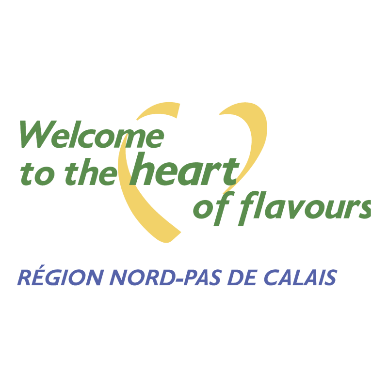 Welcome to the heart of flavours vector logo