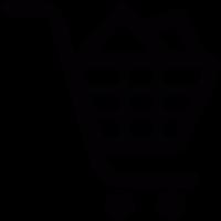 Full shopping cart vector