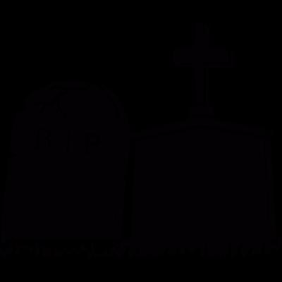 Headstones vector logo