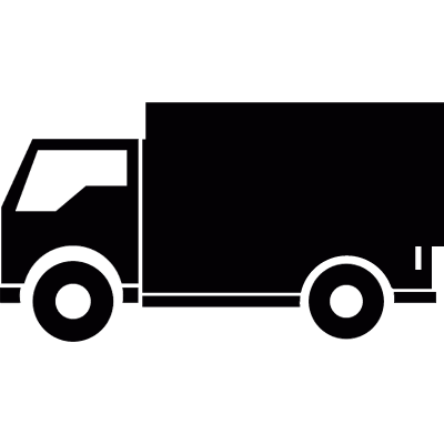 Delivery truck vector logo