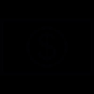 Big Dollar Bill vector logo
