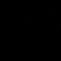 Hot dog, IOS 7 symbol vector
