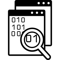 Data search symbol for interface vector