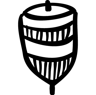 Spin toy vector logo