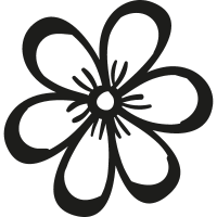 Spring Flower Petals vector