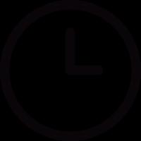 Circular clock vector