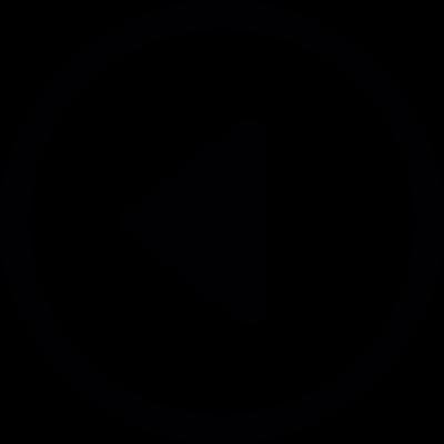 Go To Back Track Button vector logo