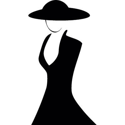 Dress dummy vector logo