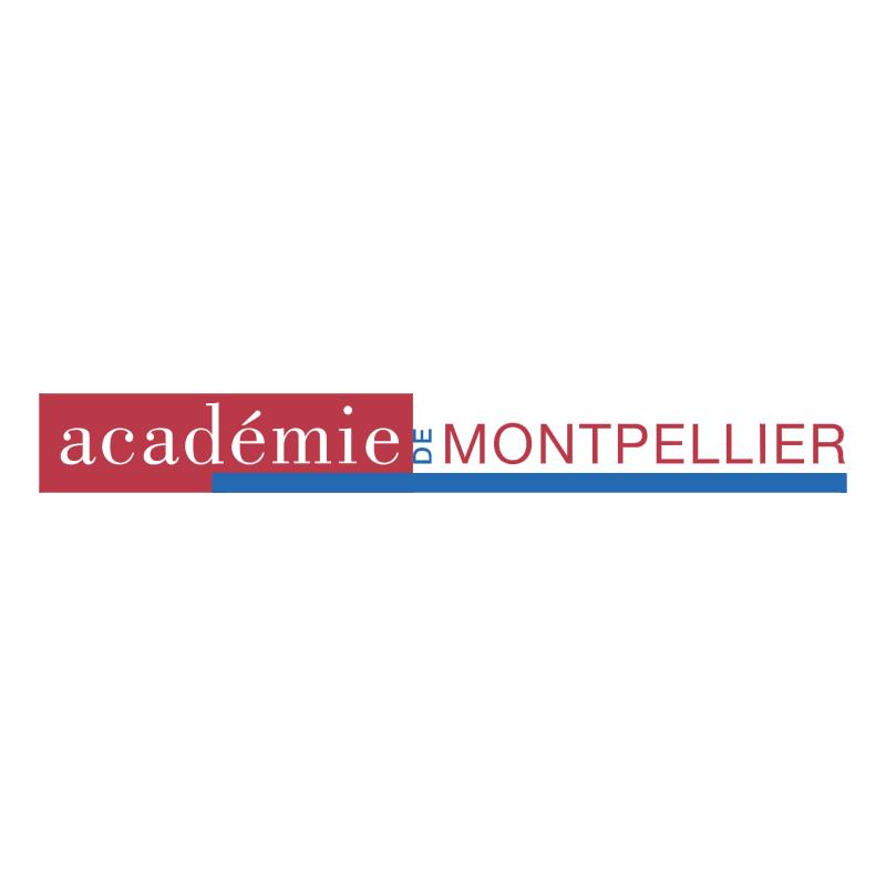 Academie de Montpellier 51898 vector