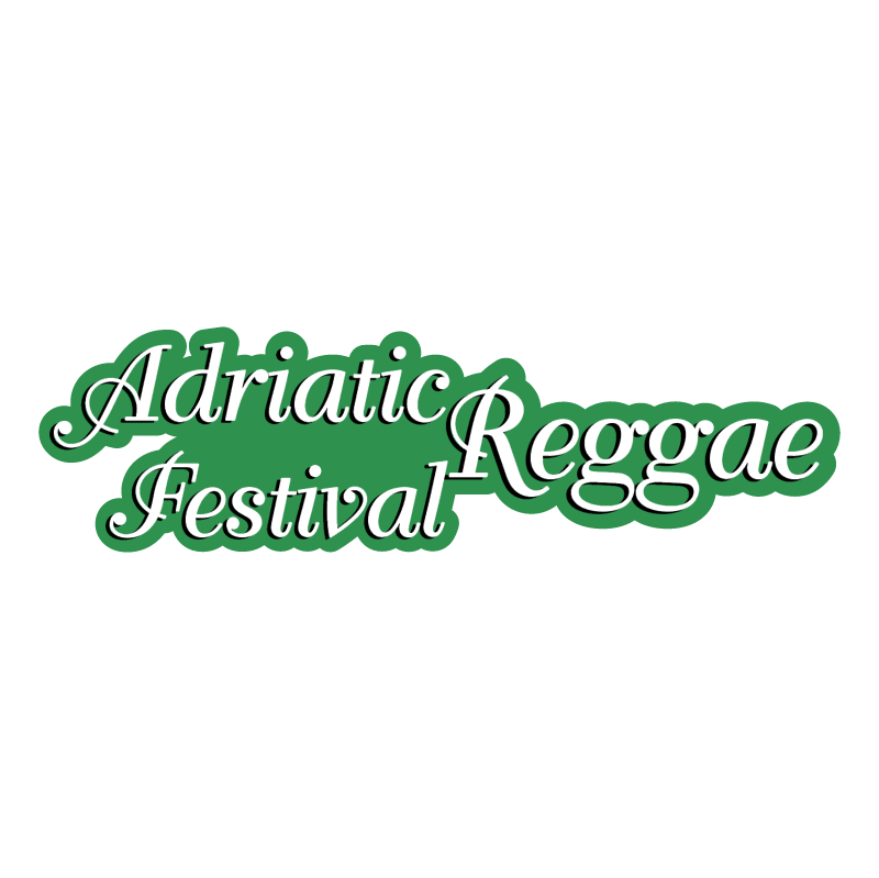 Adriatic Festival Reggae vector