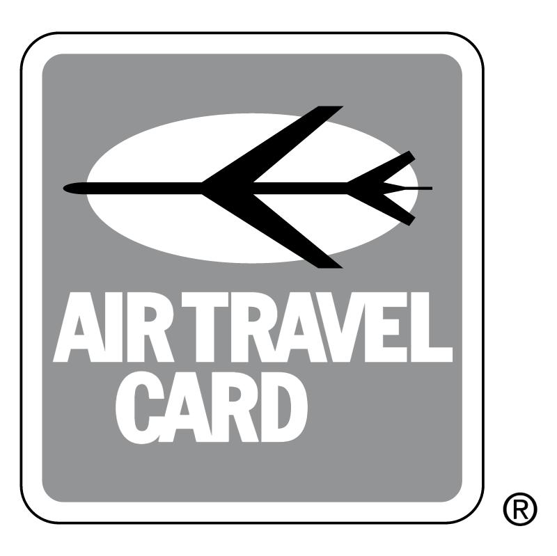 Air Travel Card 4097 vector