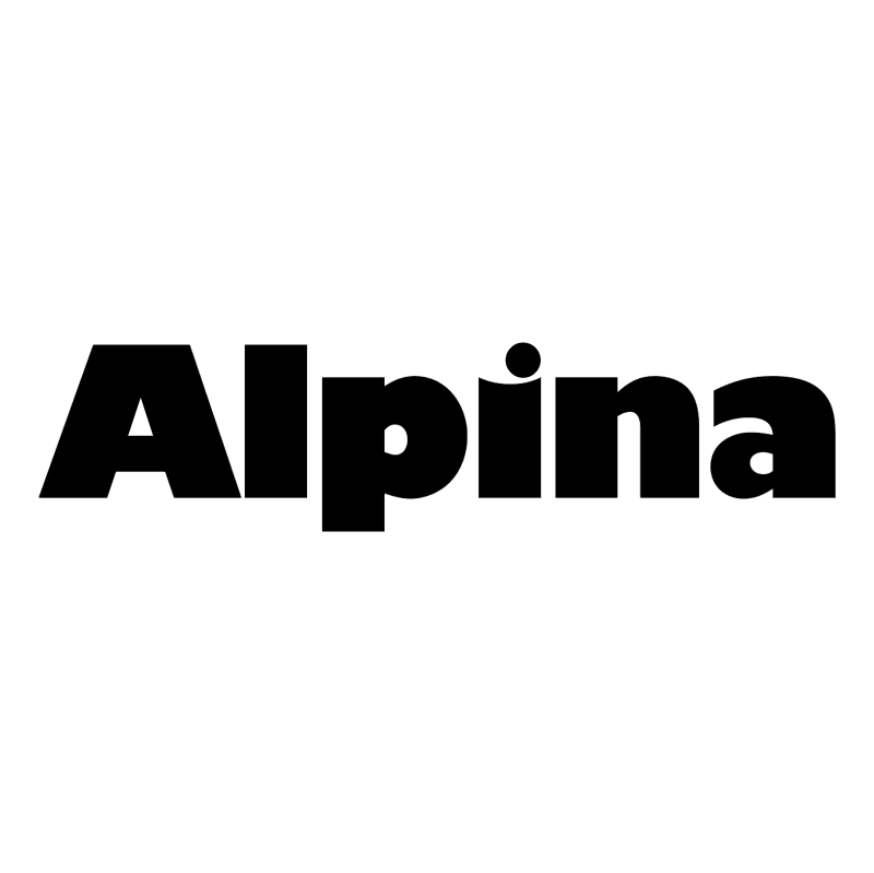 Alpina 63953 vector logo