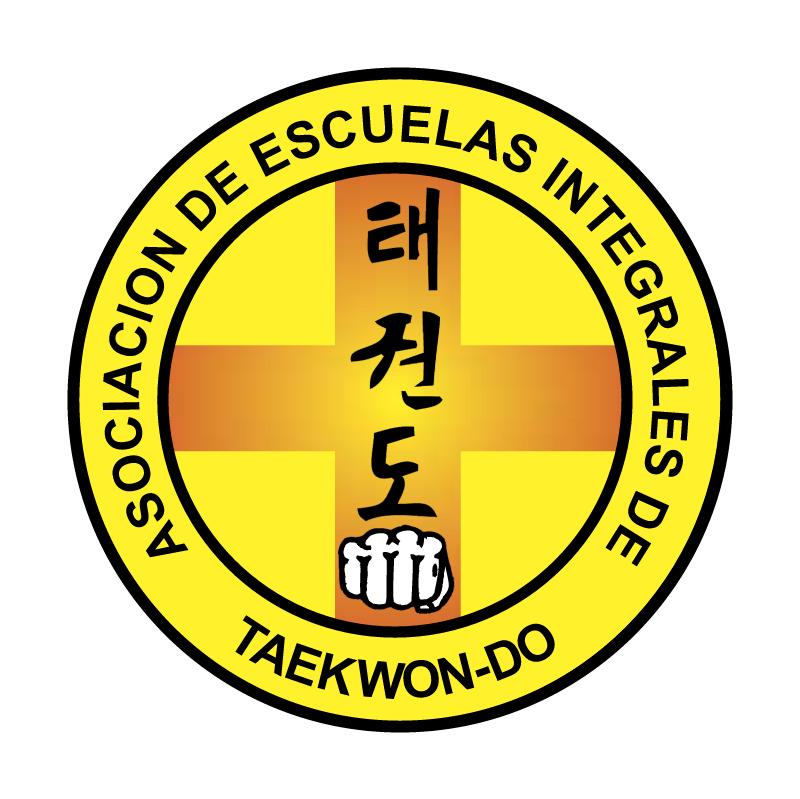 Asociacion de Escuelas Integrales de Taekwon do vector
