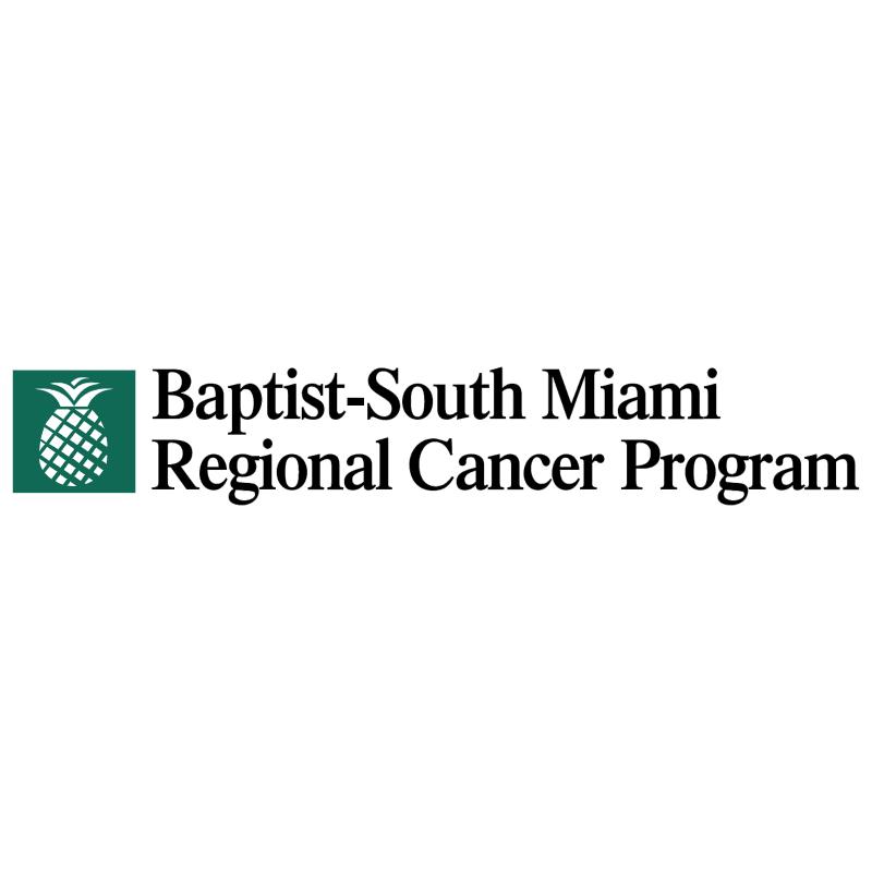 Baptist South Miami Regional Cancer Program vector
