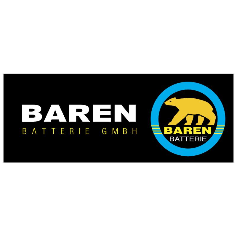 BAREN batteries GMBH 37329 vector