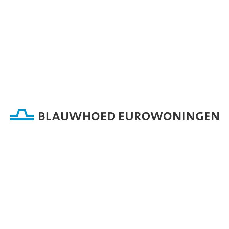 Blauwhoed Eurowoningen vector