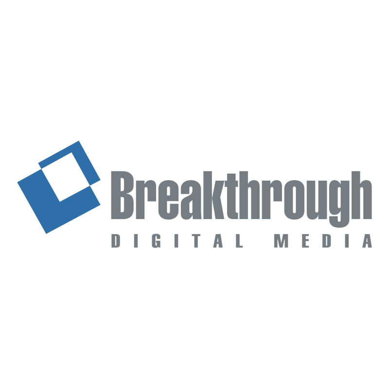 Breakthrough Digital Media 60981 vector logo