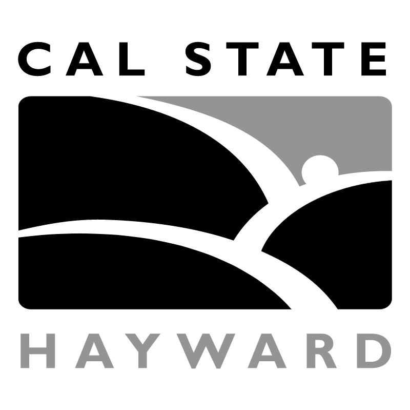 Cal State University Hayward vector