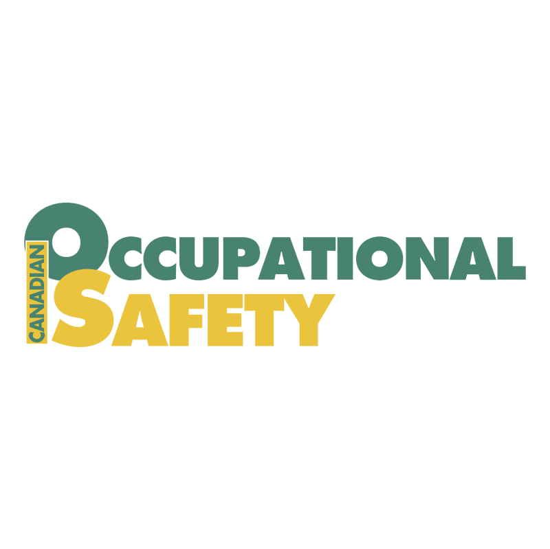 Canadian Occupational Safety vector