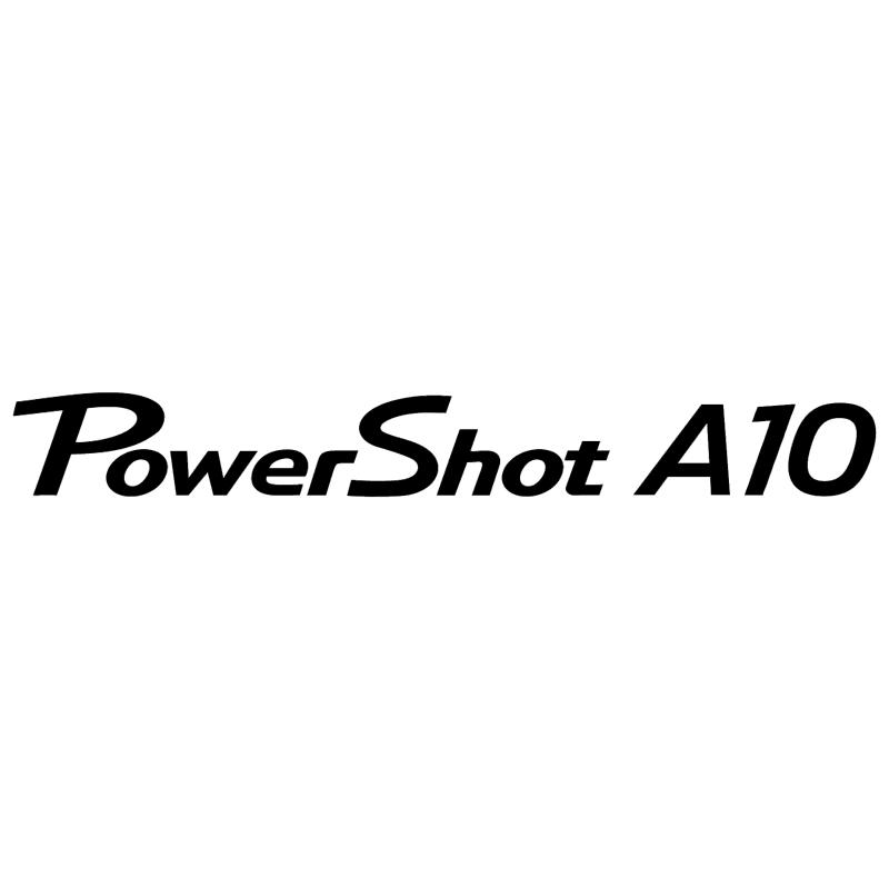 Canon Powershot A10 vector