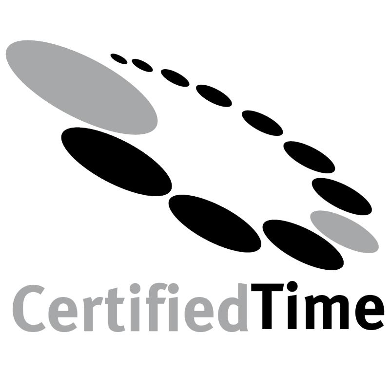 CertifiedTime vector