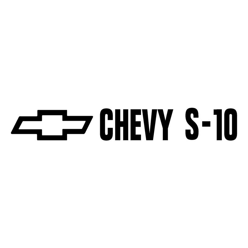 Chevy S 10 vector