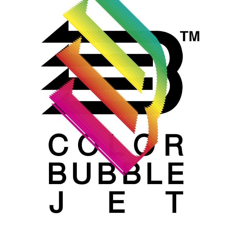 Color Bubble Jet vector