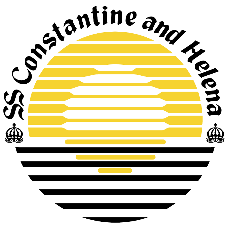 Constantine and Helena vector