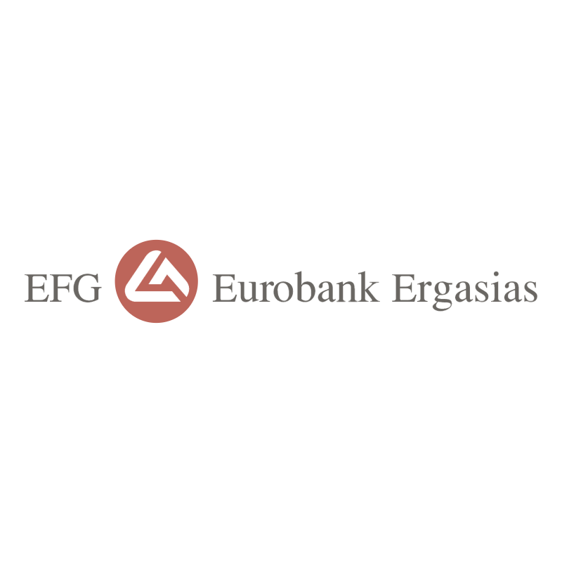 EFG Eurobank Ergasias vector