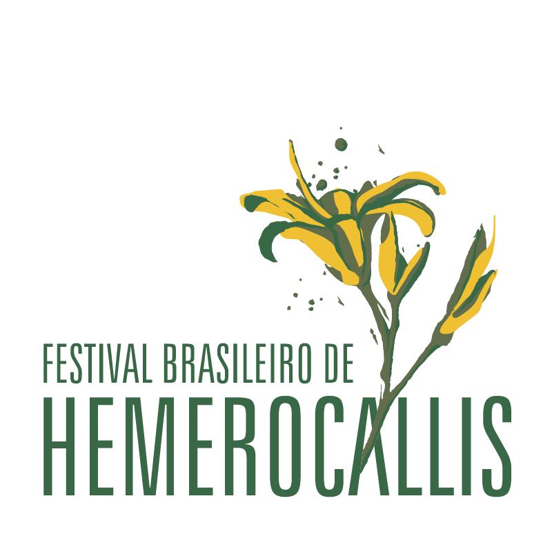 Festival Brasileiro de Hemerocallis vector logo