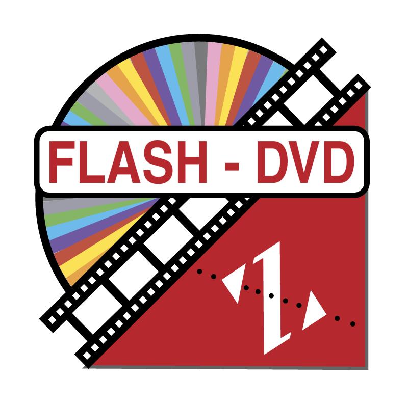 Flash DVD vector logo