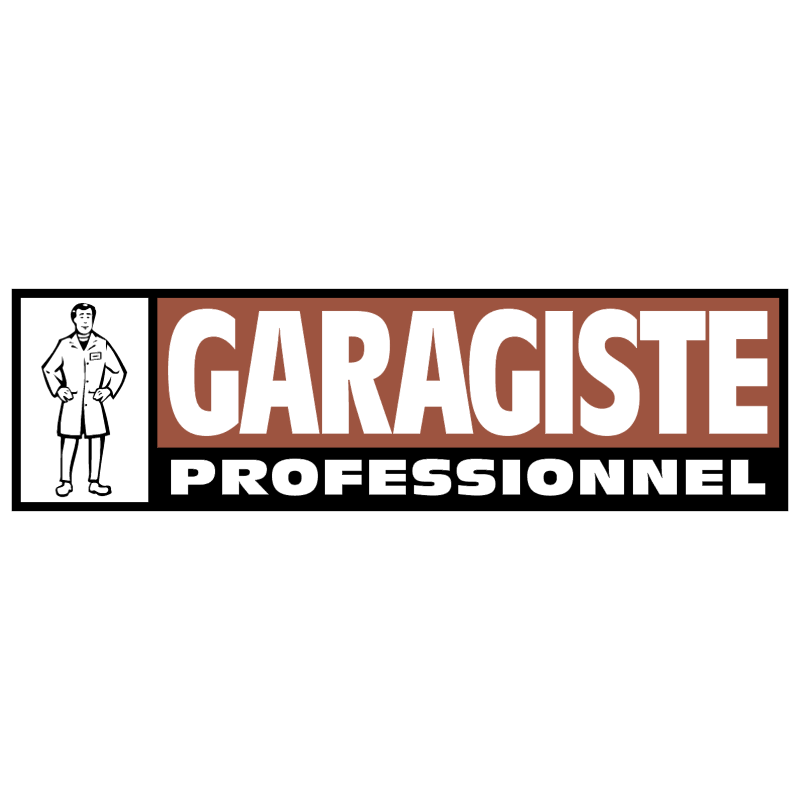 Garagiste Professionnel vector