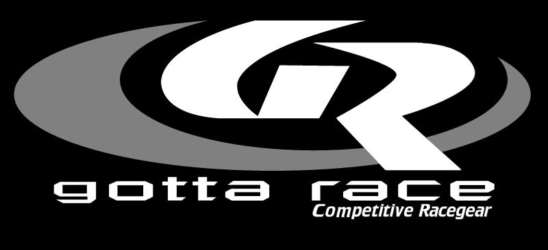 GOTTA RACE vector